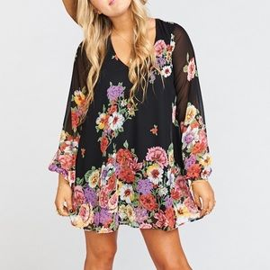 NWT Show Me Your Mumu Falling Florals tunic